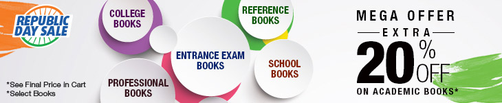 Extra 20% Off on select Academic Books