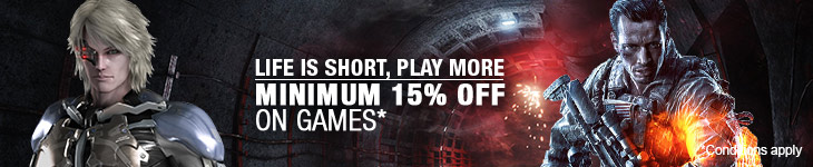 Minimum 15% Off on select Games