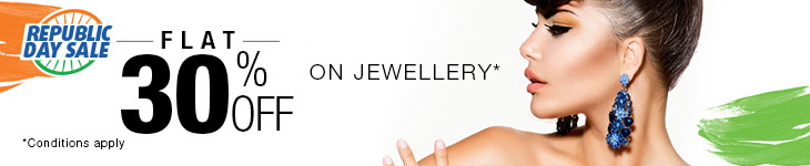 Flat 30% Off on select Jewellery products