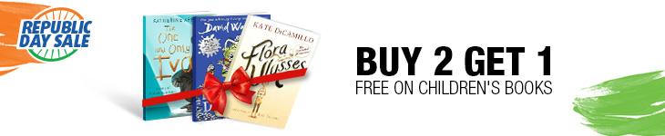 Buy2, Get 1 Free on Children's Books