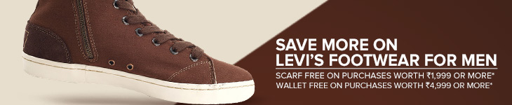 Levis Footwear - Free Scarf