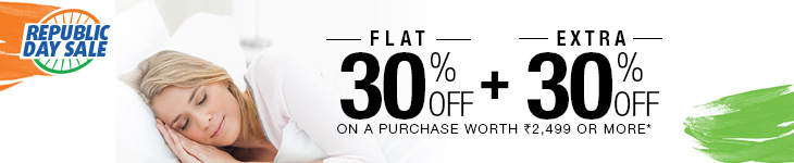 Home Furnishing - Flat 30% + Extra 30% Off