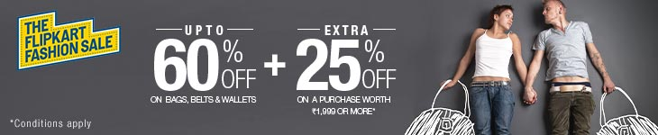 Flipkart Weekend Fashion Sale - UPTO 75% OFF + UPTO 30 % OFF On Footwear, Clothing, Watches & More From Flipkart.com 3