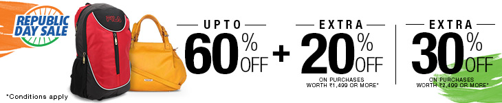 Fashion Accessories - Upto 60% + Extra 30% off