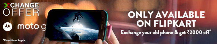 Exchange Offer on MOTO G phone