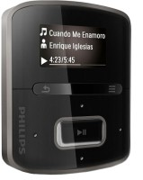 Philips RaGa 4 GB MP3 Player: Home Audio & MP3 Players