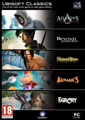 Buy Ubisoft Classics Pack (25th Anniversary Edition): Av Media