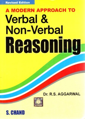 Buy A MODERN APPROACH TO VERBAL AND NON VERBAL REASONING (English) Revised Edition: Book