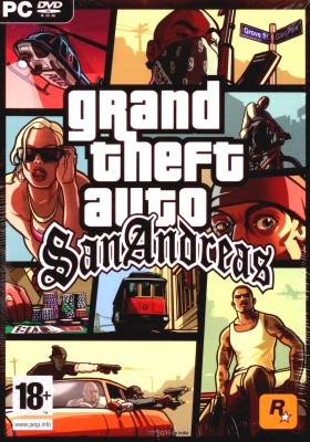 Buy Grand Theft Auto : San Andreas: Av Media