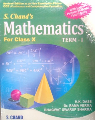 Mathematics for Class X(Term - I) (With CCE Papers) 01 Edition price comparison at Flipkart, Amazon, Crossword, Uread, Bookadda, Landmark, Homeshop18