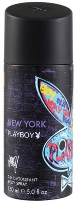 Buy Playboy New York Deodorant Spray  -  150 ml: Deodorant