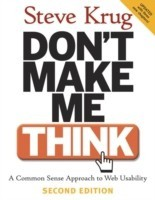 Don't Make Me Think!: Book