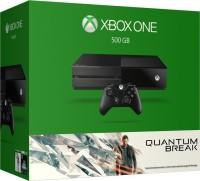 Microsoft Xbox One 500 GB with Quantum Break(Black) Flipkart Rs. 23990