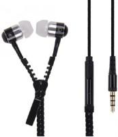 Vsquare Zipper earphone Headset with Mic(Black, In the Ear) Flipkart Rs. 249.00