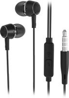 Flipkart SmartBuy Wired Metal Headset With Mic(Black, In the Ear) Flipkart Rs. 499.00