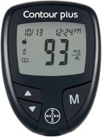 Top 8 Best Glucometers In India - BAYER CONTOUR PLUS WITH 25 STRIPS Glucometer(Black) Flipkart Deal