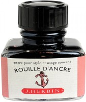 J. Herbin Ink Bottle: Pen