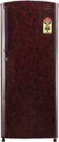 Videocon 245 L Direct Cool Single Door 5 Star Refrigerator (VZ255LTC, Red)