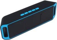 Yuvan BS - 113 FM Portable Bluetooth Mobile/Tablet Speaker(Blue, Stereo Channel) Flipkart Rs. 798.00