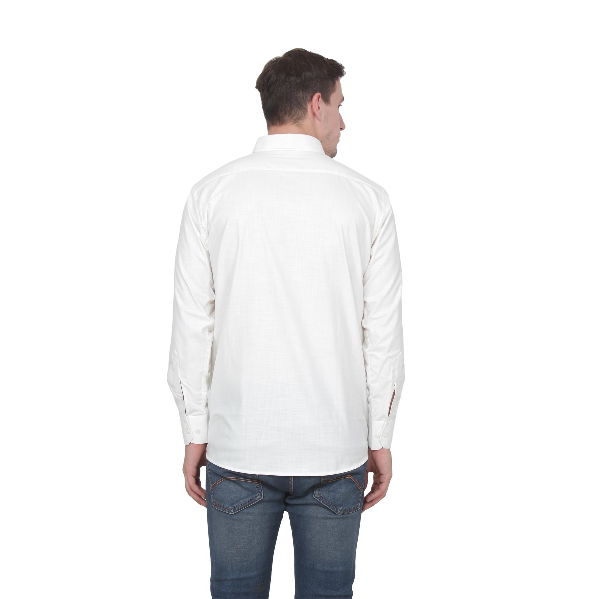 Men Party Wear Shirts  Color White