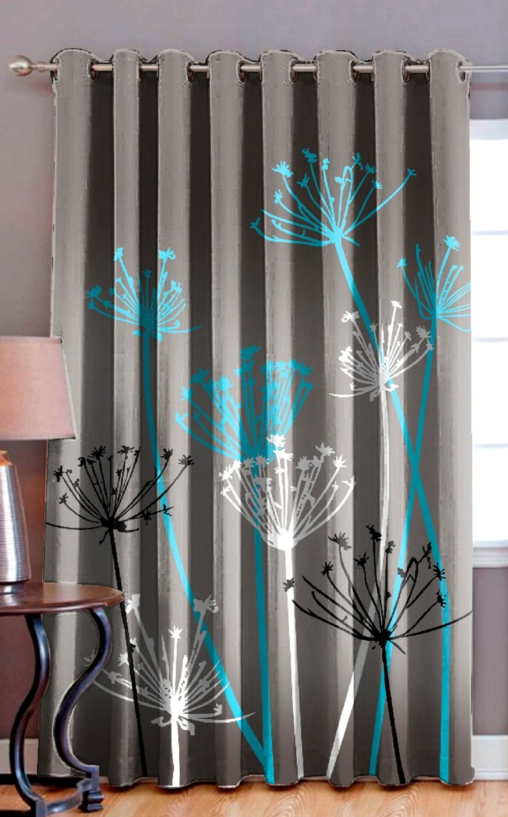 AKR CREATION Heavy long crush door size Curtain 213 cm (7 ft) Single Piece