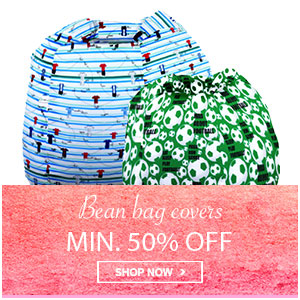 Home Mega Sale - Min 50% off on bean bags
