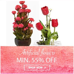 Home Mega Sale - Min 55% off on artificial flowers