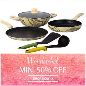 Home Mega Sale - Wonderchef Min 50% Off