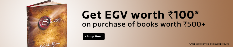 Get EGV of Rs100 on Books purchase of Rs500+