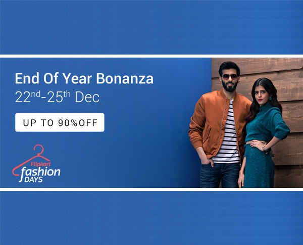 Flipkart Fashion Days - Huge stock clearance sale. Hurry!