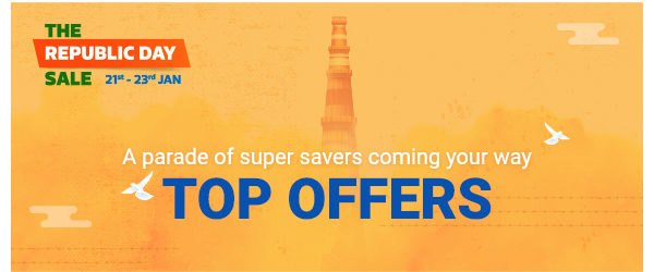 Sale has Begun! Scroll Down and Explore our Top Offers!