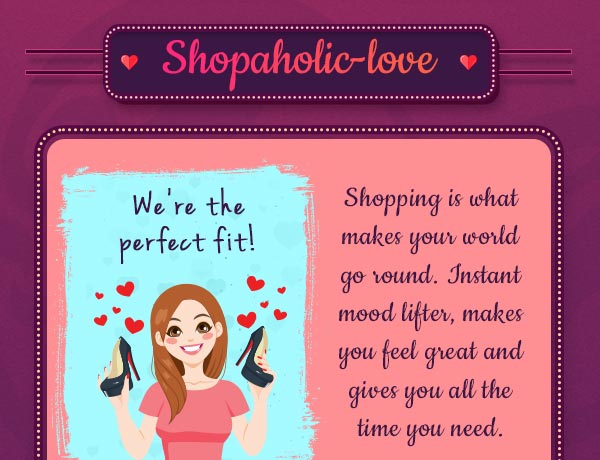 Shop-a-holic Love?
