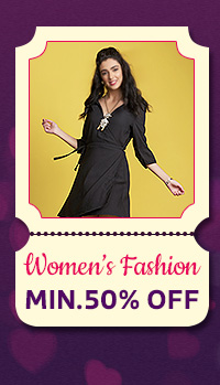 Women's Fashion at Min.50% Off