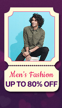 Men's Fashion up to 80% Off