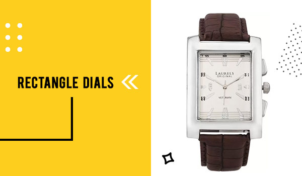 Rectangle Dial Watches