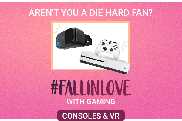 Fall In Love with Gaming