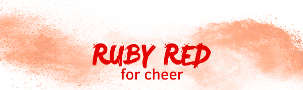 Ruby Red for cheer
