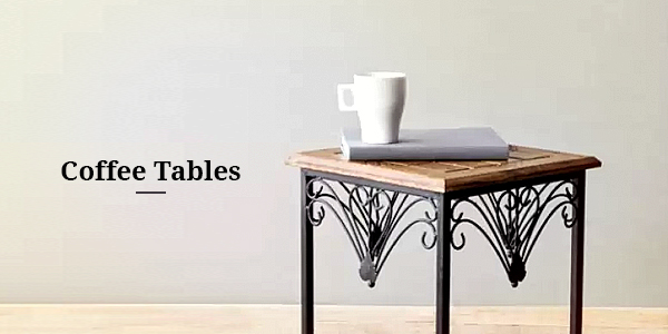 Min 50% Off on Coffee Tables