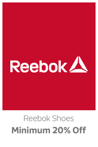 Reebok Shoes at Min.20% Off
