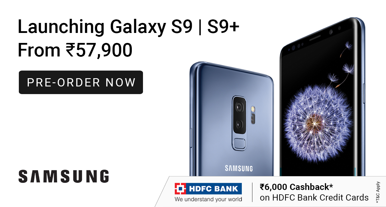 Launching - Samsung Galaxy S9 | S9+