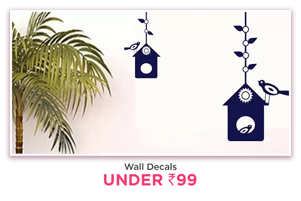 Wall Decals under Rs.99
