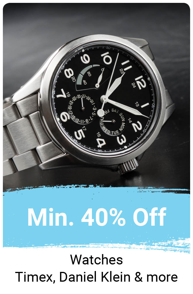 Watches at Min.40% Off