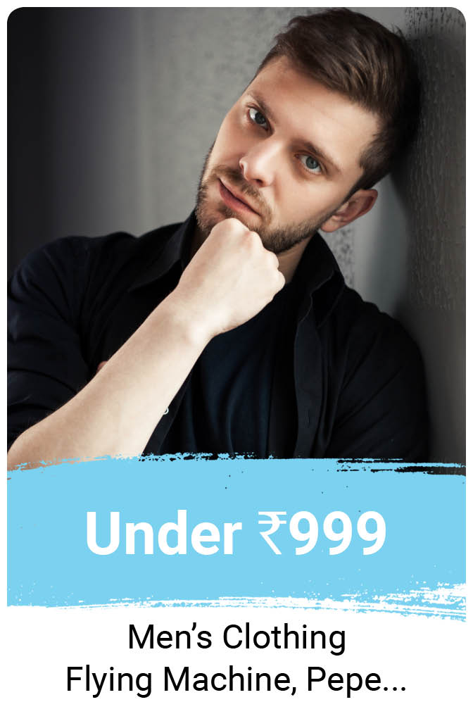 Men's Clothing under Rs.999