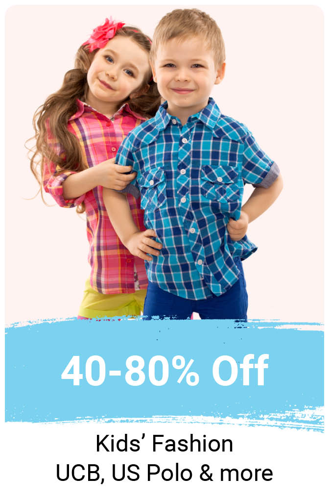 Kids Clothing at Min. 40% Off