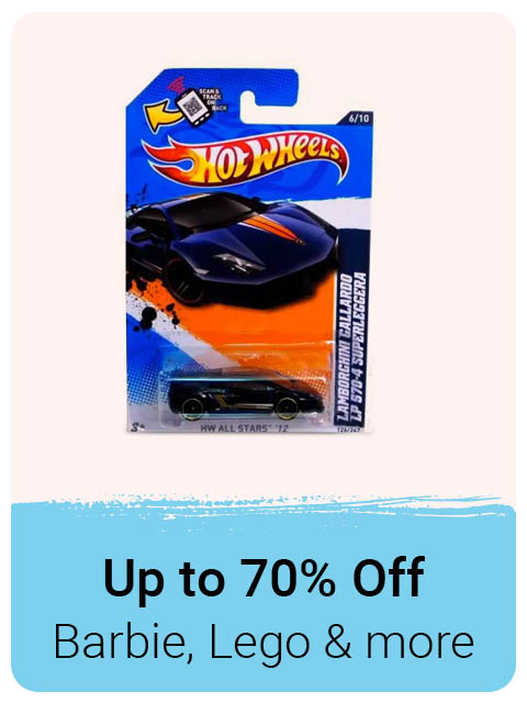 Toys up to 70% Off