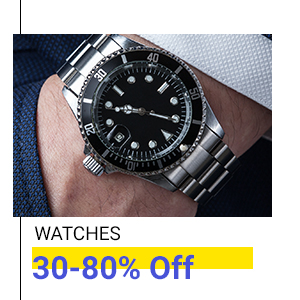 Watches at Min.30% Off