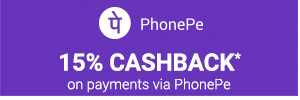 15% Cahback on PhonePe