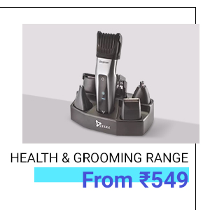 Health and Grooming Range from Rs.599
