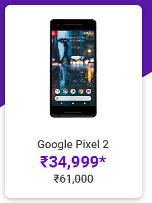 Google Pixel 2 for Rs.34,999