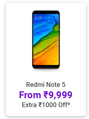Redi Note 5 from Rs.9,999